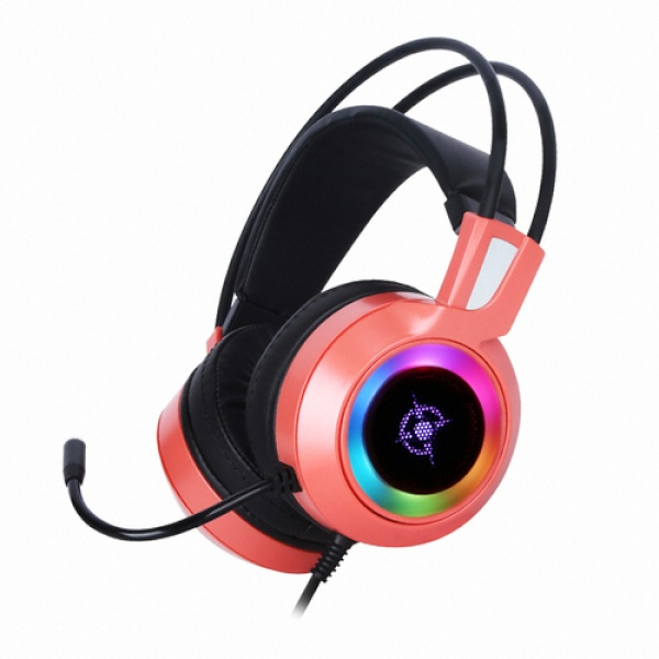 (COX (헤드셋 CH50 CORAL (가상 7.1ch/ RGB/진동 헤드셋/진동/가상