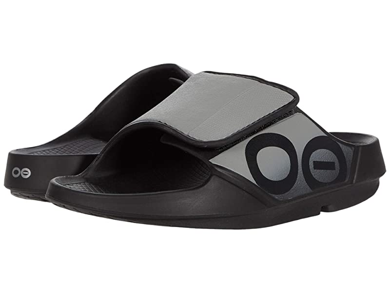 [미국정품] 341987 우포스 남성 슬리퍼 OOFOS OOahh Sport Flex - Black/Gray