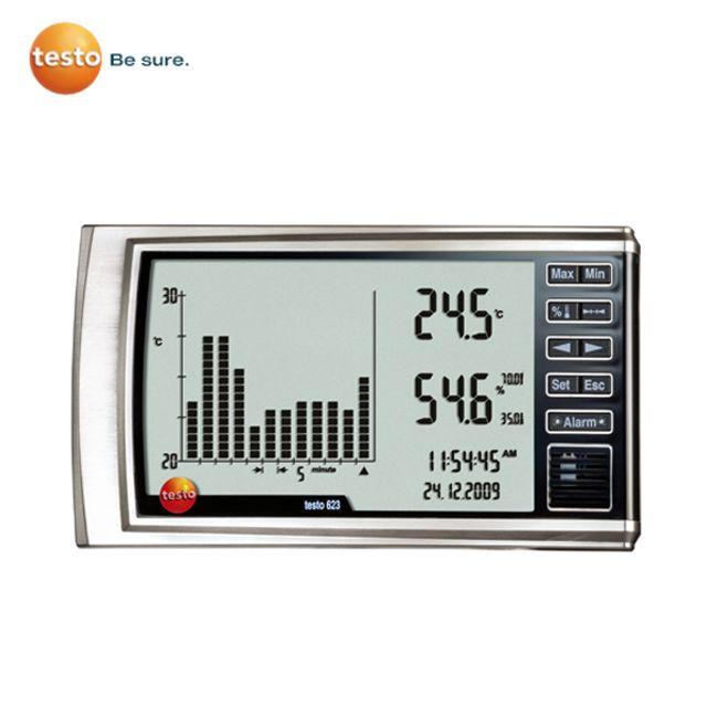 TESTO 622 실내공기 관리용 온습도계 테스토온습도계, 본상품선택