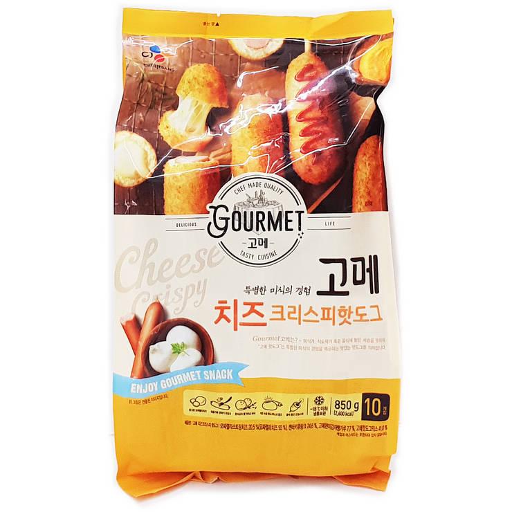 CJ 고메 치즈 크리스피 핫도그 850g, 단일상품