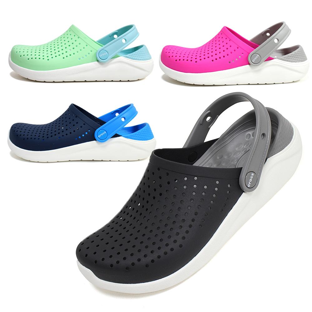 크록스 키즈 라이트라이드 K 205964 아동 여름 물놀이 샌들 여름 신발 4종 택일