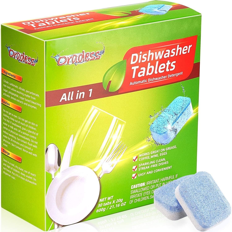 식기세척기세제 전용 린스 식세기 엘지 삼성 코스트코 밀레 블루루 30 개 접시 세척기 청소기 자동 식기 청정 기세척기 청소 용품 부, 단일수량