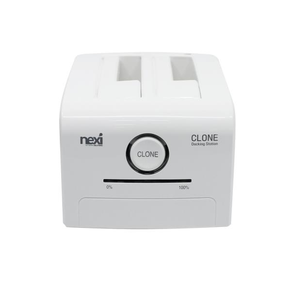 moda 2베이 SSD HDD 백업 복제 USB 3.0 하드도킹스테이션 화이트 외장하드 클론 Ql#