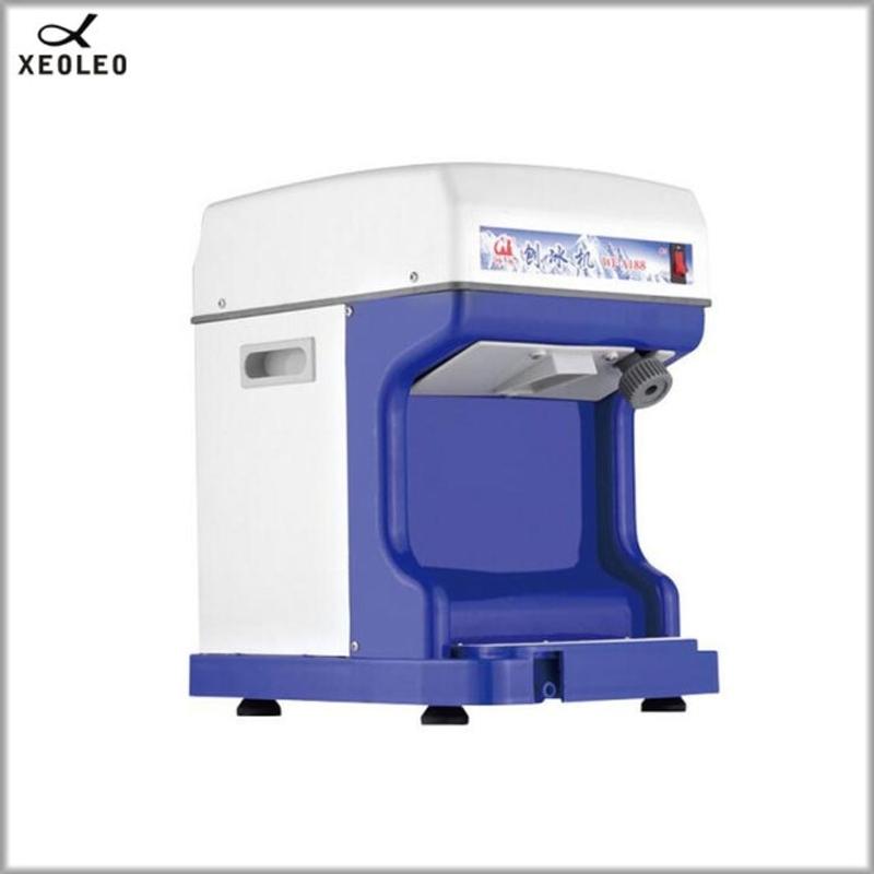 눈꽃 빙수기 팥빙수 기계 전기 아이스 플래너 상업용 크러셔 자동 스노우 콘, 푸른, 220V, AU