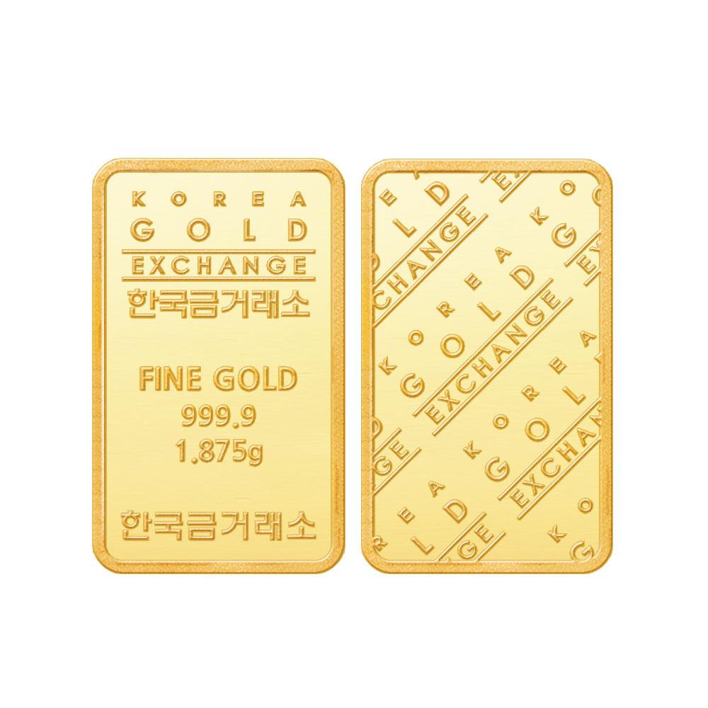 한국금거래소 미니골드바 카드패킹형 1.875g
