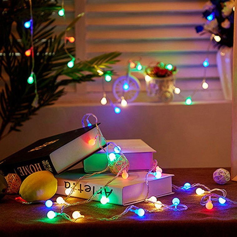 지식중심지_갬성 홈캠핑 LED 컬러 앵두전구 20구 3m (USB타입) 크리스마스 전구_KH, 상세페이지 참조