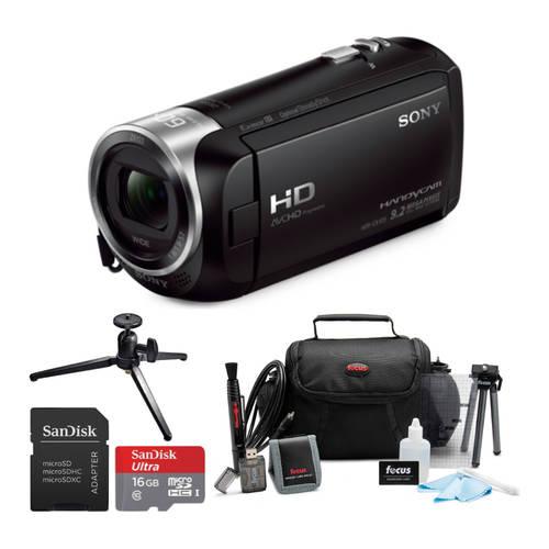 Sony Sony HDRCX405 Handycam HD Camcorder with 16GB microSD Card and Ac, 상세내용참조