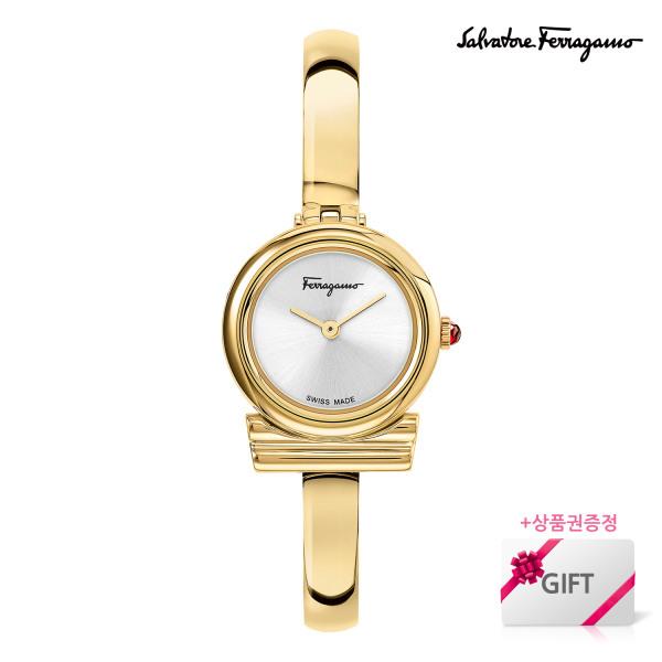 [페라가모(시계)] [상품권 5000원증정] 페라가모 간치니 메탈시계 SFIK011-20