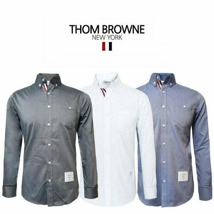 톰브라운 L6 히든삼선 셔츠