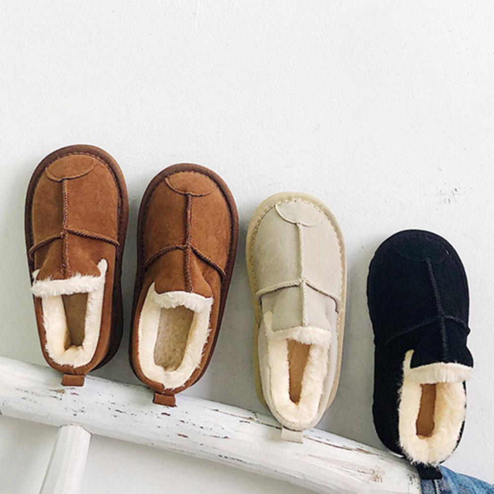 남아 여아 아동 겨울 방한 털신 키즈 겨울신발 어린이 털단화 털슬립온 숏어그 따뜻한 겨울 신발 탐탐