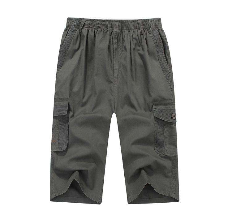 남자점프수트 여름시즌 얇은타입 남성캐주얼 바지 오버사이즈 바지밴딩 포켓 루즈핏 카고바지