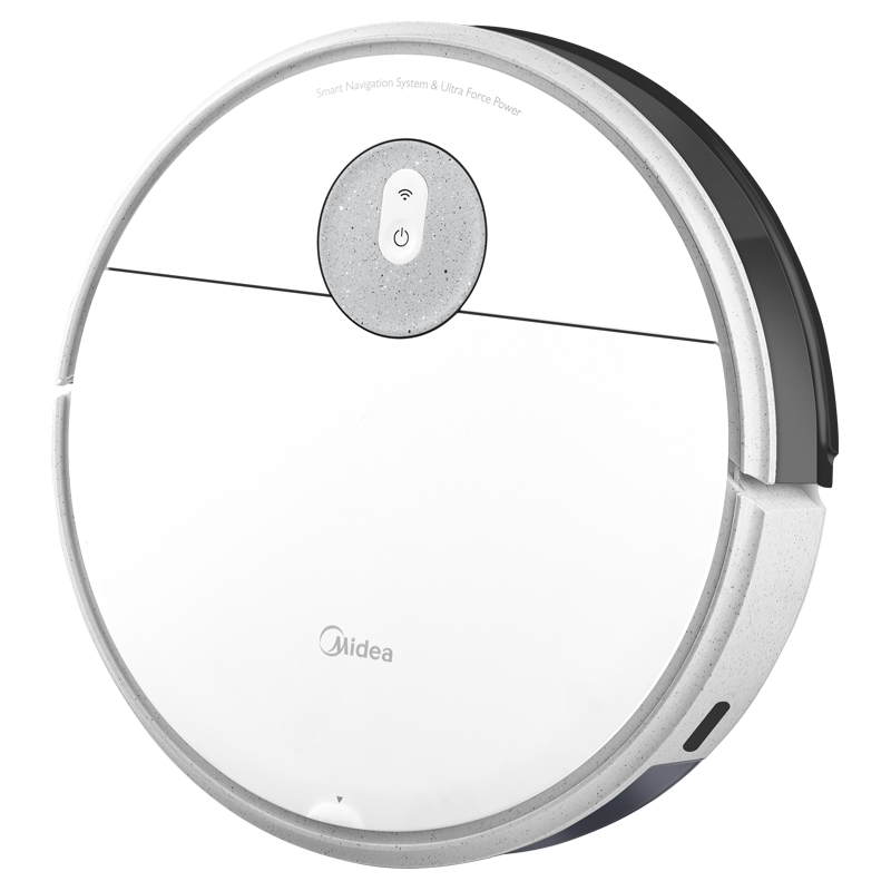 100833 Midea 청소 로봇 홈 자동 스마트 진공 청소기 청소 및 청소 올인원 3-in-one 청소 I5 Midea/美的, 폴라 화이트