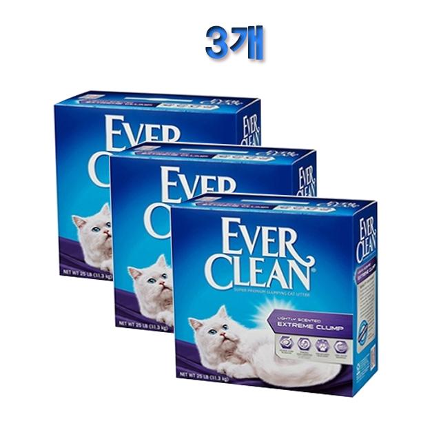 에버크린 ES(향) 벤토나이트 고양이모래 6.35kg 3개(보라), 1개