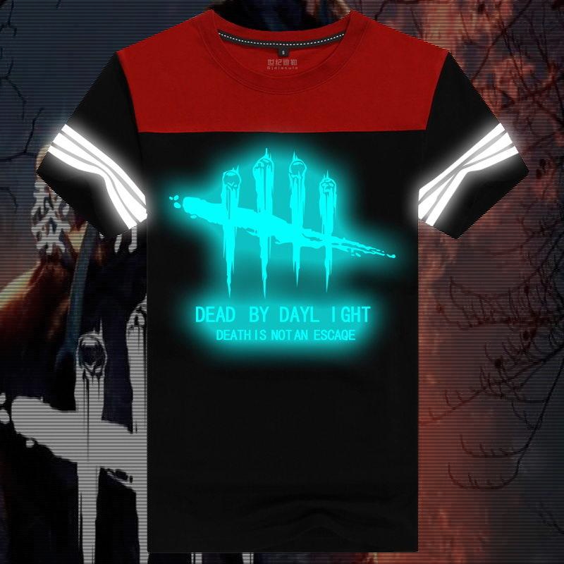 해외_Dead by Daylight 데드 바이 데이라이트 프린트 티셔츠