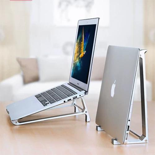 딕시 프리미엄 알루미늄 노트북 거치대, 실버-7-1852876885