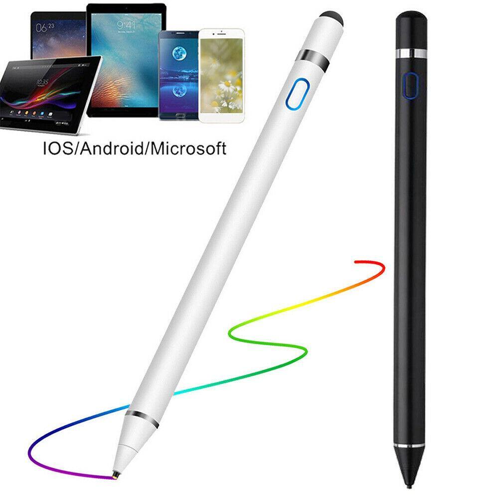 액티브 스타일러스 펜 iPad 애플 연필 1 2 IOS 스타일러스 안드로이드 태블릿 펜 연필 iPad 화웨이 삼성 Xiaomi 스마트 폰|태블릿 터치팬|, 1개(A3), WHITE(A3)