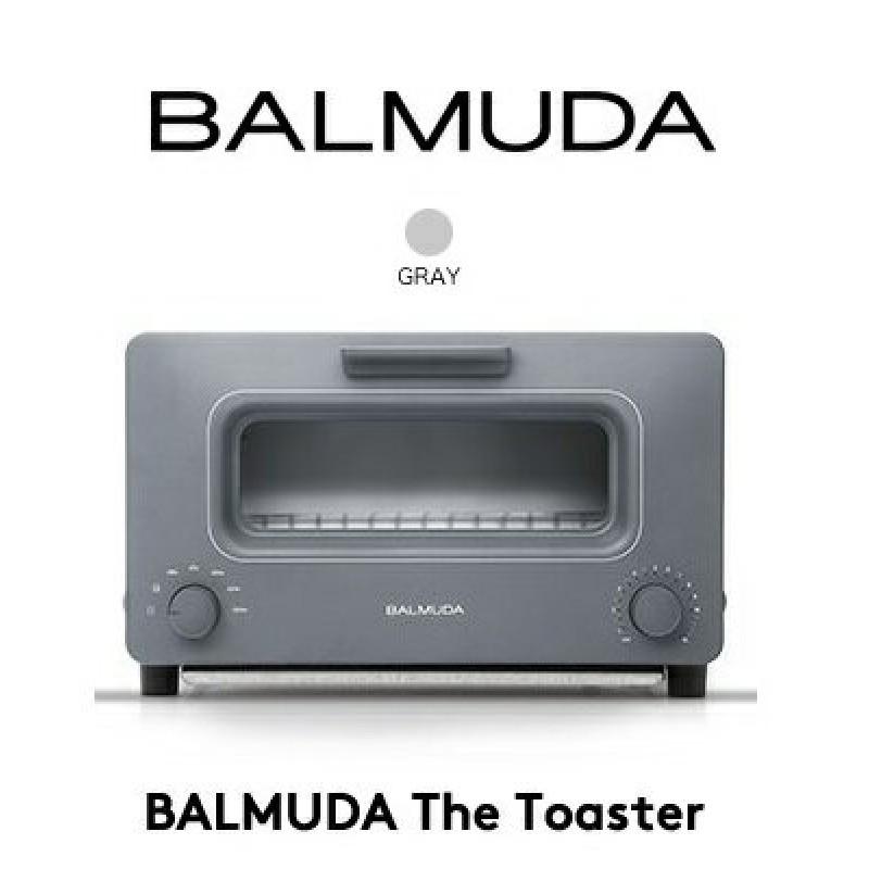 컬러 BALMUDA The Toaster감동의 토스터 K01E-GW한정 생산 모델 그레이 바루 뮤 다 오븐 토스터 고, 단일상품