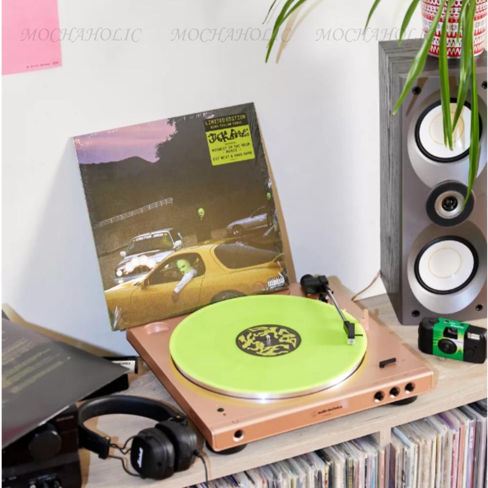 Audio Technica 오디오테크니카 턴테이블 블루투스 LP 플레이어 로즈 골드