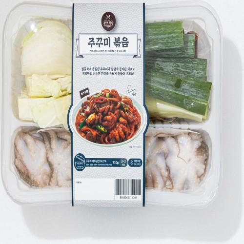 창포식당 주꾸미 볶음, 1팩, 710g