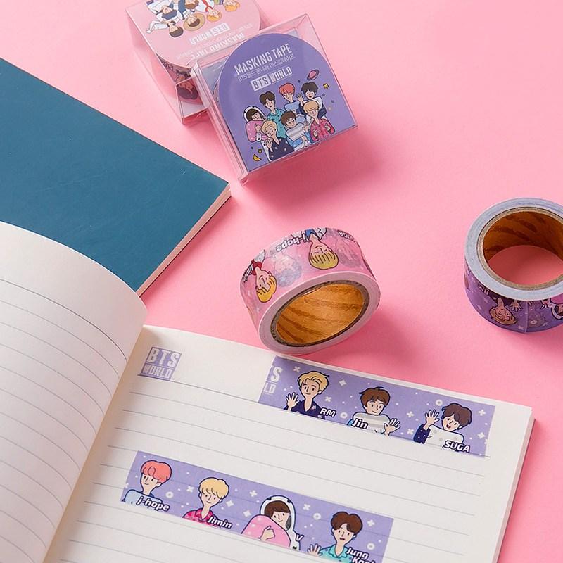 방탄소년단 BTS WORLD 마스킹테이프, 꿈나라 마스킹 테이브