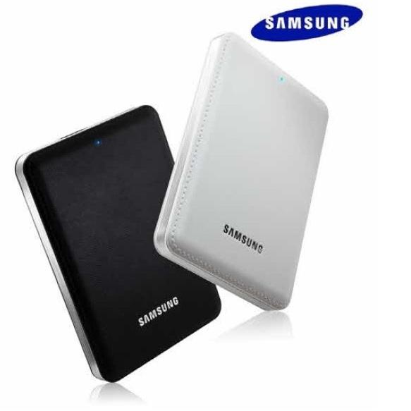 삼성 외장하드 1테라 2테라 휴대용 USB3.0 포터블 1TB 2TB, 블랙