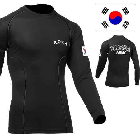 군인용품 ROKA 로카 발열 스포츠 래쉬가드