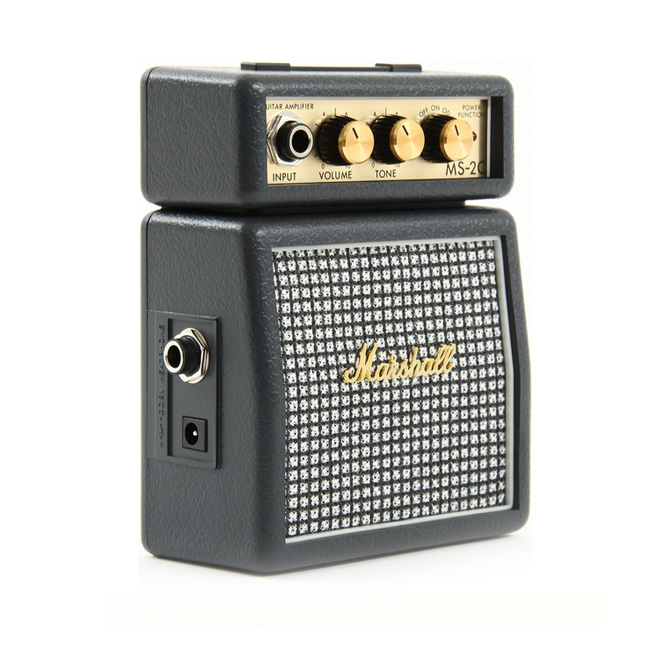 Marshall 휴대용 기타 미니앰프 MS-2C (Classic) 깜찍한 앰프