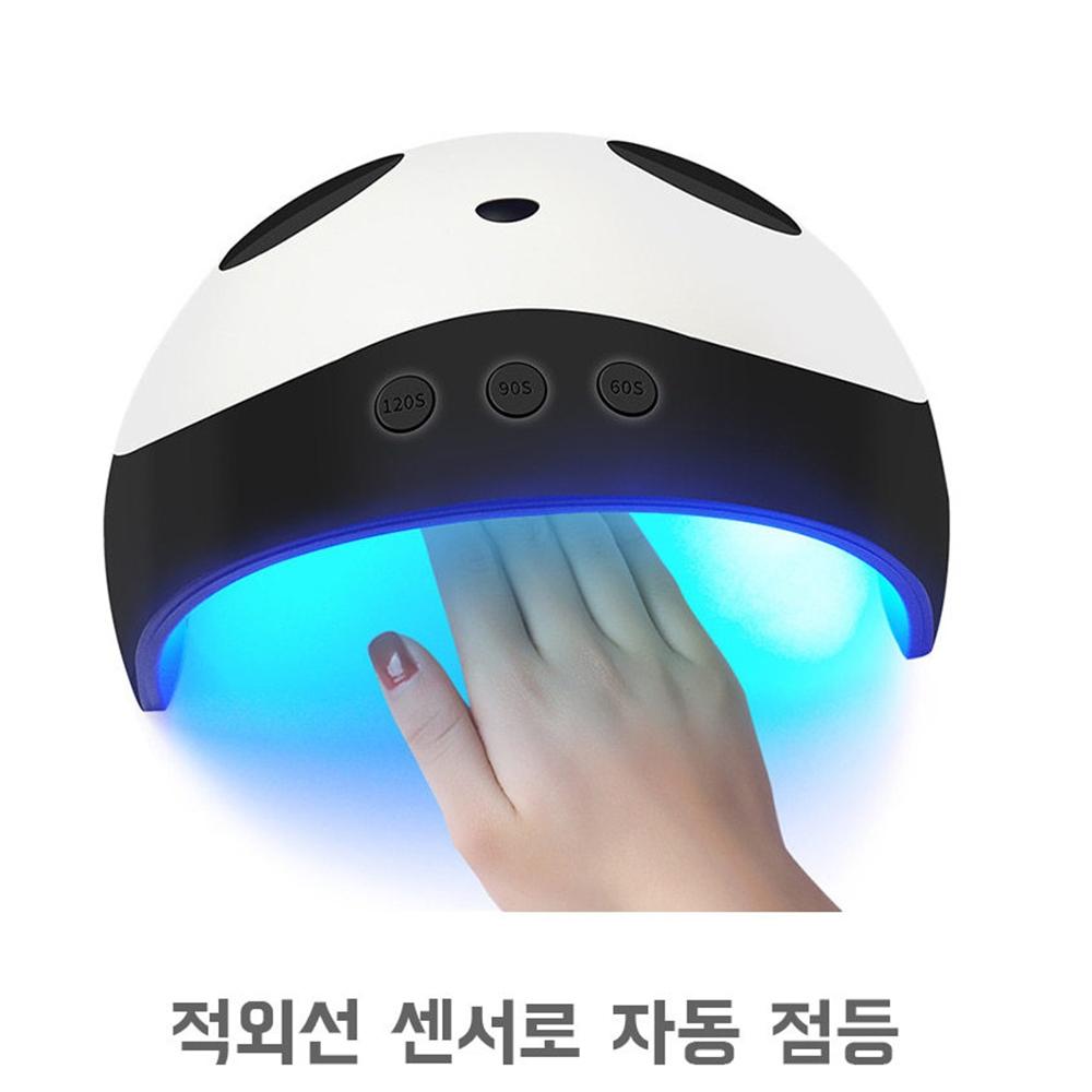 젤램프 36W UV LED 전문가용 젤네일 셀프 네일 램프 자동센서 레진 셀프 패드 경화기 큐어 네일샵, usb포함