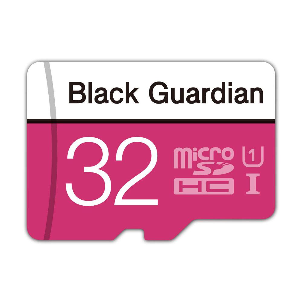 Black Guardian 자동차 블랙박스메모리카드 16G 32G 64G 마이크로SD MLC, 32GB