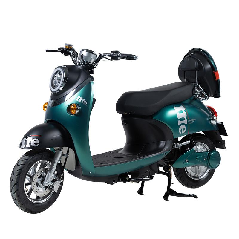 [ENGWE] WANGBEN XGW 48V-60V 20A 성인 이륜 전기 오토바이 대보 전동 스쿠터, 다크 블루, XGW-60KM