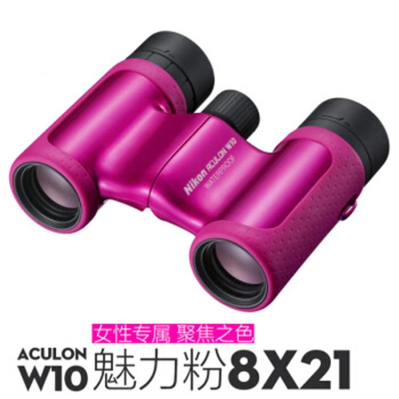 고배율 콘서트 군용 오페라글라스 망원경 쌍안경 단망경일본 Nikon Nikon T01, W10 핑크 8X21