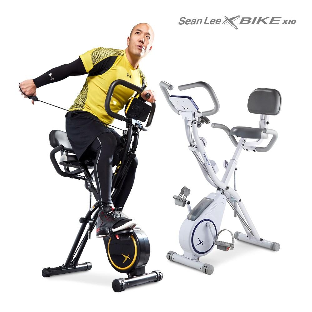 실내자전거 숀리 엑스바이크 X10 엑스텐, 블랙-7-5339197265