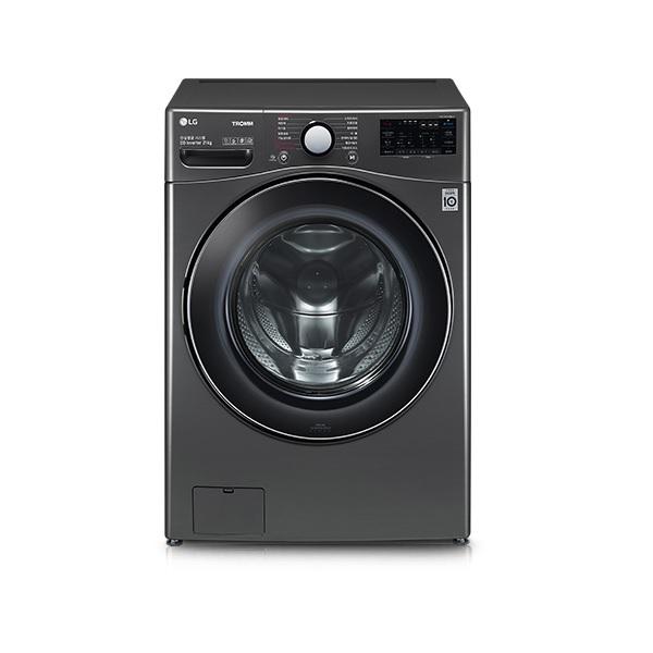 LG전자 F21KDZ 드럼세탁기 21kg DD모터 트루스팀 블랙 스테인레스