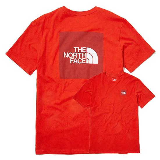 노스페이스 박스 반팔 라운드 티셔츠 NT7UL03 5종택1