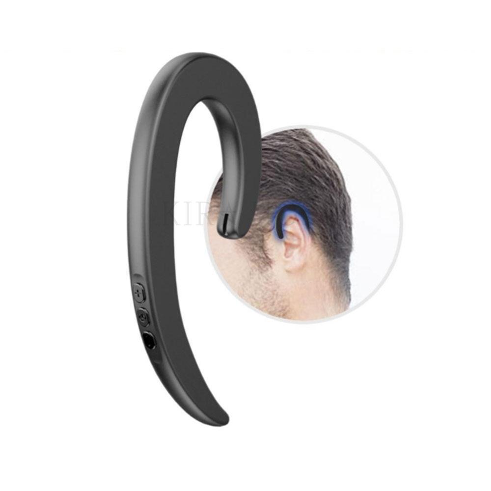 kirahosi 블루트스이어폰 코드 프리 소형 블루투스 이어폰 휴대용 55 MV 10 Q2vwyfd, 블랙 한쪽 귀, 표준배치