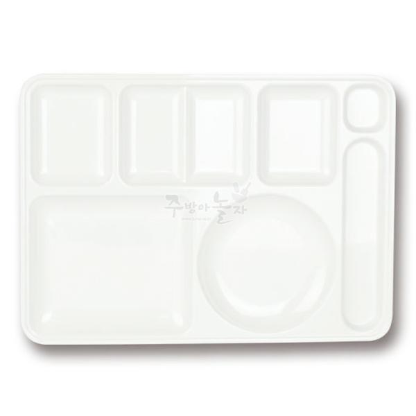 멜라민 식판 1호 (DS-7-008), 화이트