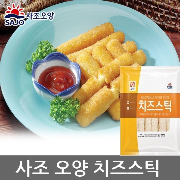 사조오양 치즈스틱 1kg, 1개