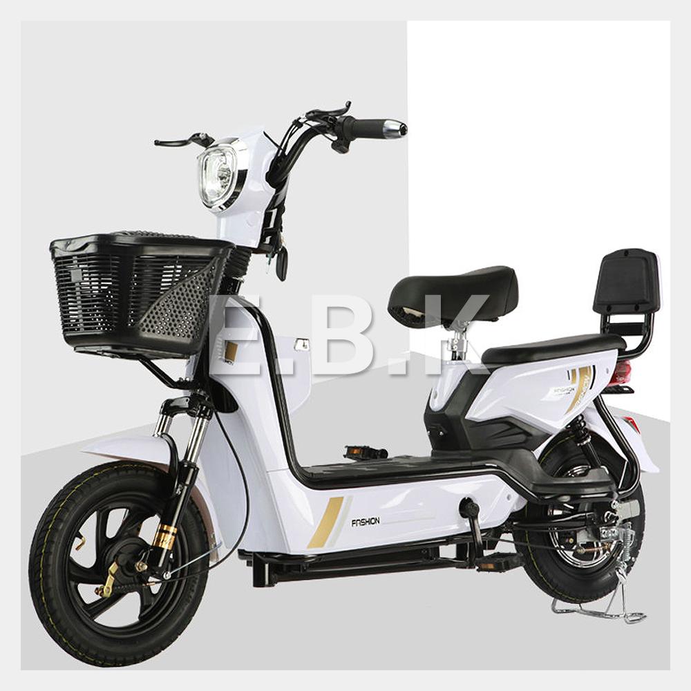 전기 자전거 2020 최신형 GX 2인용 48V 12A_20A 350W 전동스쿠터 납산 리튬배터리 주문즉시 공장출고 2일내선적 전동 스쿠터 모터 배터리1년보증 추가 배터리 구입가능, 화이트