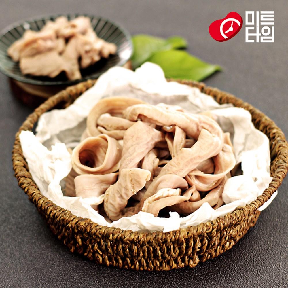 미트타임 국내산 국밥고기 돼지 순대내장 곱창 소창 300g, 5팩