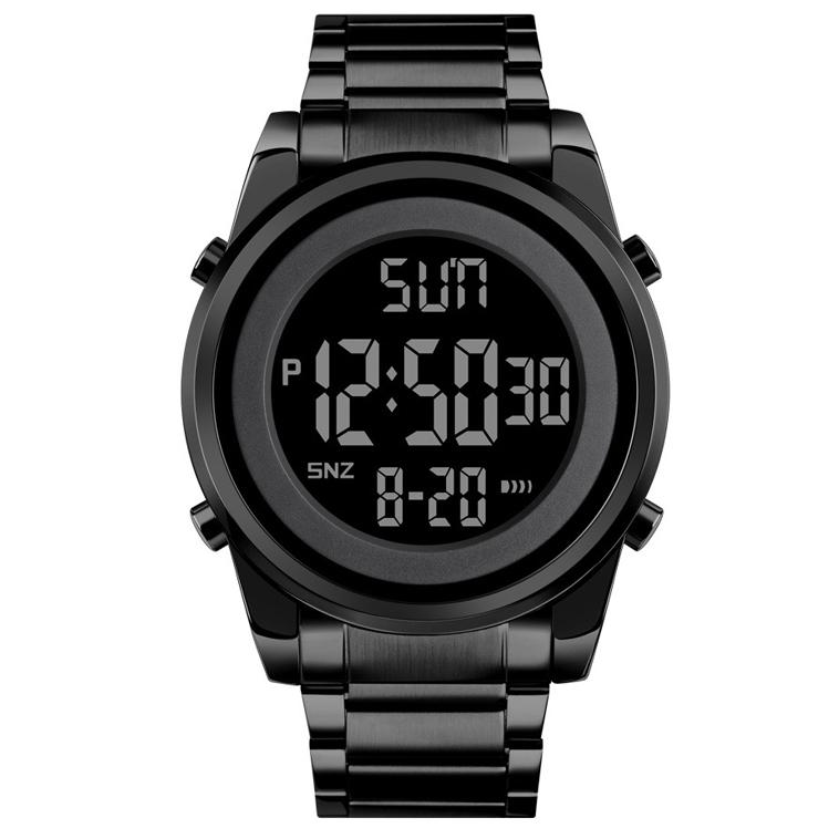 프레시오 남성용 메탈전자손목시계 P2011