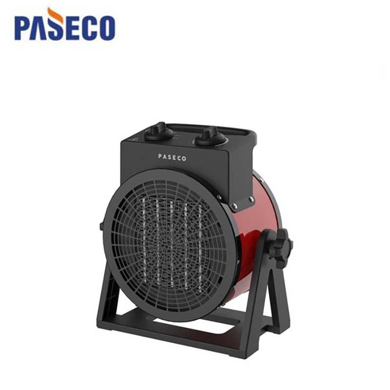파세코 팬히터 전기난로 전기히터 온풍기 PPH-2K PPH-3K, 검정색