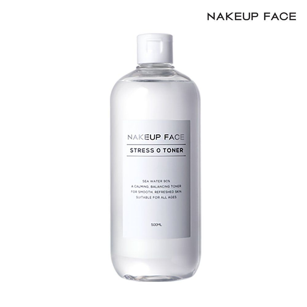 nakeup face Nakeup 네이크업 페이스 스트레스 제로 토너 500 ml, none, 상세페이지참조