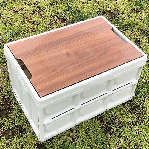 노르디스크폴딩박스 st캠핑수납박스, 화이트 폴딩박스 + 상판