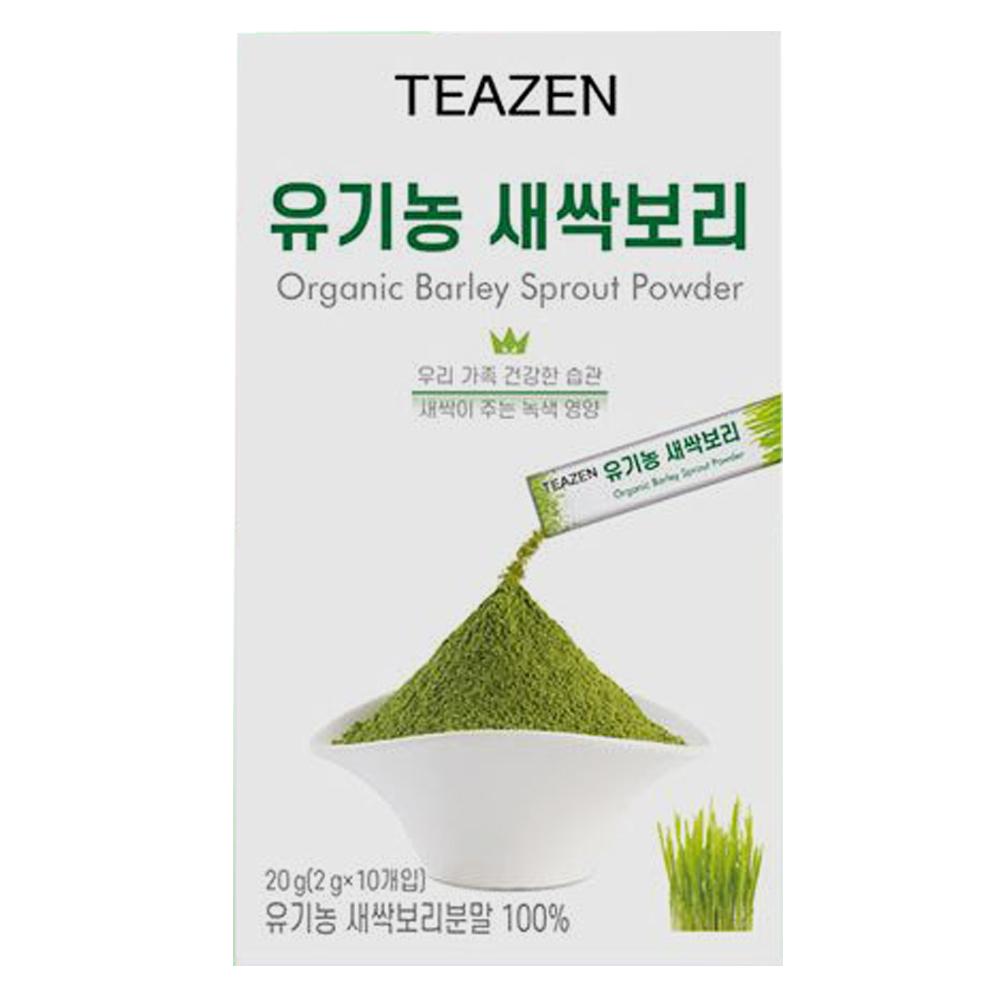 티젠 유기농 새싹 보리 10입/분말 영양만점, 단일상품, 단일상품