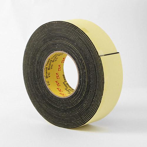 다용도 방음 완충용 단면 스펀지 테이프 5cmx10M T2