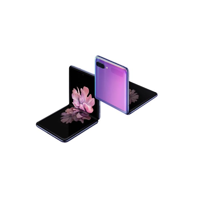 삼성전자 갤럭시 Z플립 휴대폰 SM-F700NK KT 256GB, 미러 블랙