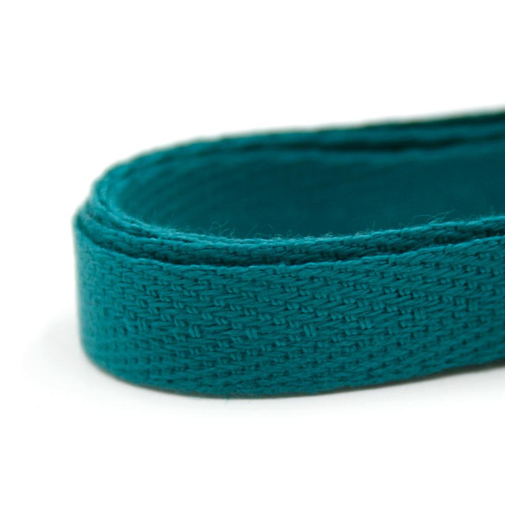 헤링본 끈 10mm (청록색) 마스크목걸이 1마 90cm