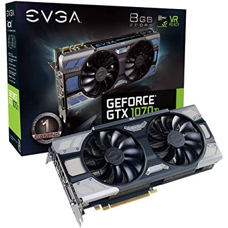 EVGA GeForce GTX 1070 Ti FTW2 GAMING 8GB GDDR5 iCX Technology - 9 Thermal Sensors RGB LED GPM A, 상세 설명 참조0