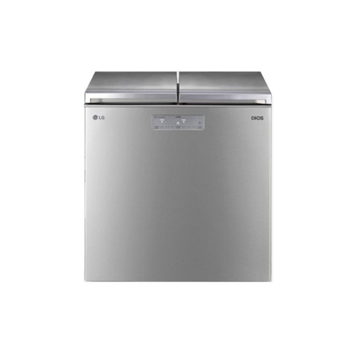 LG 디오스 뚜껑형 김치냉장고 219L (실버) K225SS12E