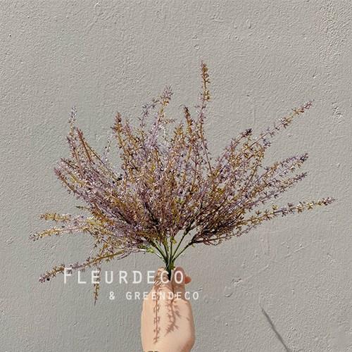 플레르데코 인테리어 꽃 소품 감성소품 조화 코키아부쉬(4color), PURPLE